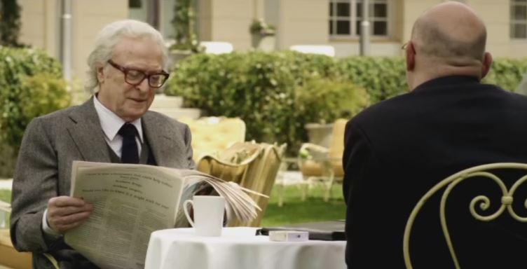 WATCH: Sir Michael Caine makes the Queen's advisor squirm in this exclusive Youth clip