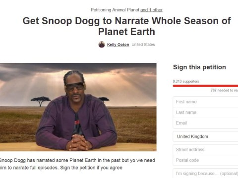 Nearly 10,000 fans sign petition for Snoop Dogg to replace David Attenborough as Planet Earth host