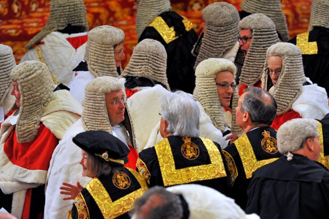 Peers receive £300 a day for attending the House of Lords (Picture: Getty Images)