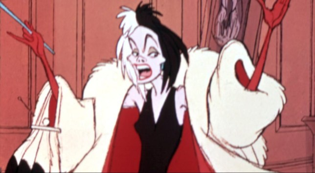 No Merchandising. Editorial Use Only. No Book Cover Usage Mandatory Credit: Photo by Everett/REX/Shutterstock (412128g) CRUELLA DE VIL - 1961 101 DALAMTIONS, VARIOUS
