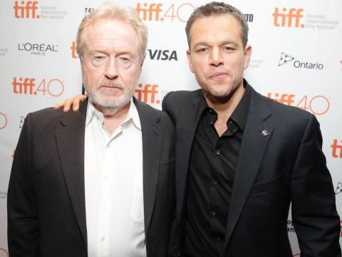 Matt Damon really wants Ridley Scott to win an Oscar for The Martian