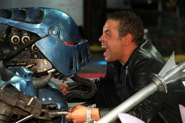 Craig Charles confirms that he would love to present the new series of Robot Wars