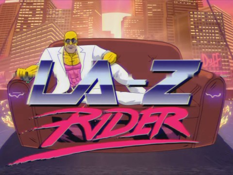 Watch Homer Simpson turn into an 80s action hero for latest couch gag
