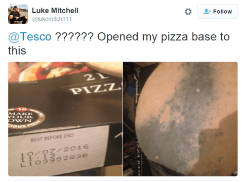 Tesco employee fails to spot this, customer's reaction is brutal