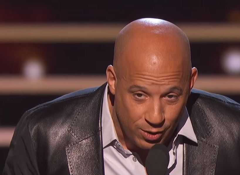 Vin Diesel chokes back tears as he sings tribute to late Furious star Paul Walker at People's Choice Awards