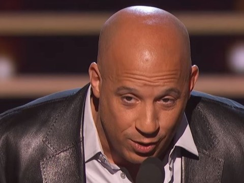 Vin Diesel chokes back tears as he sings tribute to late Furious star Paul Walker at People's Choice Awards