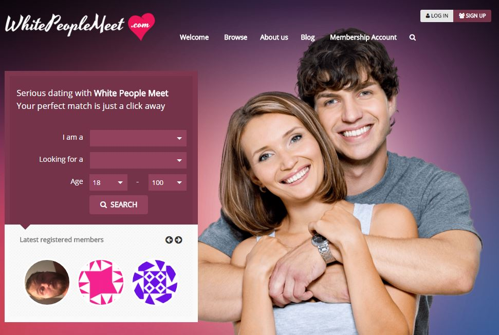 Founder of 'all white' dating site says he's not racist