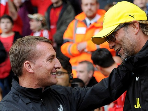 Brendan Rodgers invited Jurgen Klopp to his home after being sacked by Liverpool