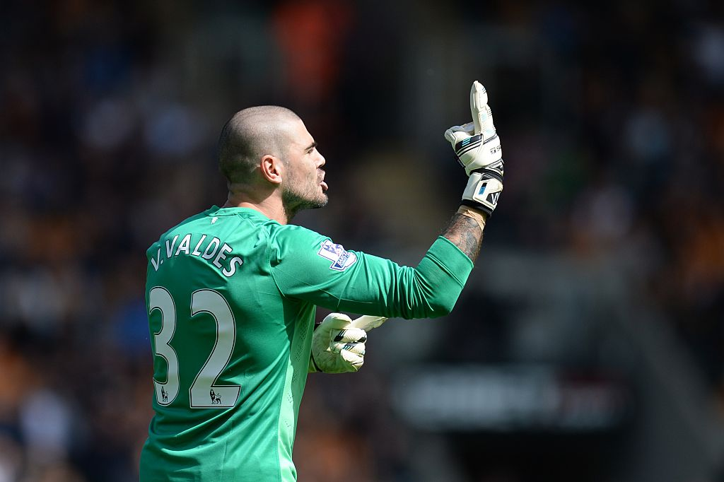 Manchester United exile Victor Valdes having to pay for his own kit