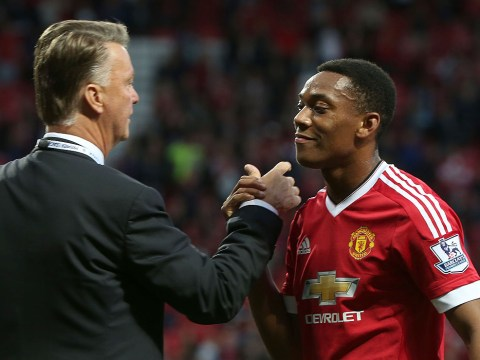 Anthony Martial got injured because Louis van Gaal made him too horny, say Manchester United fans