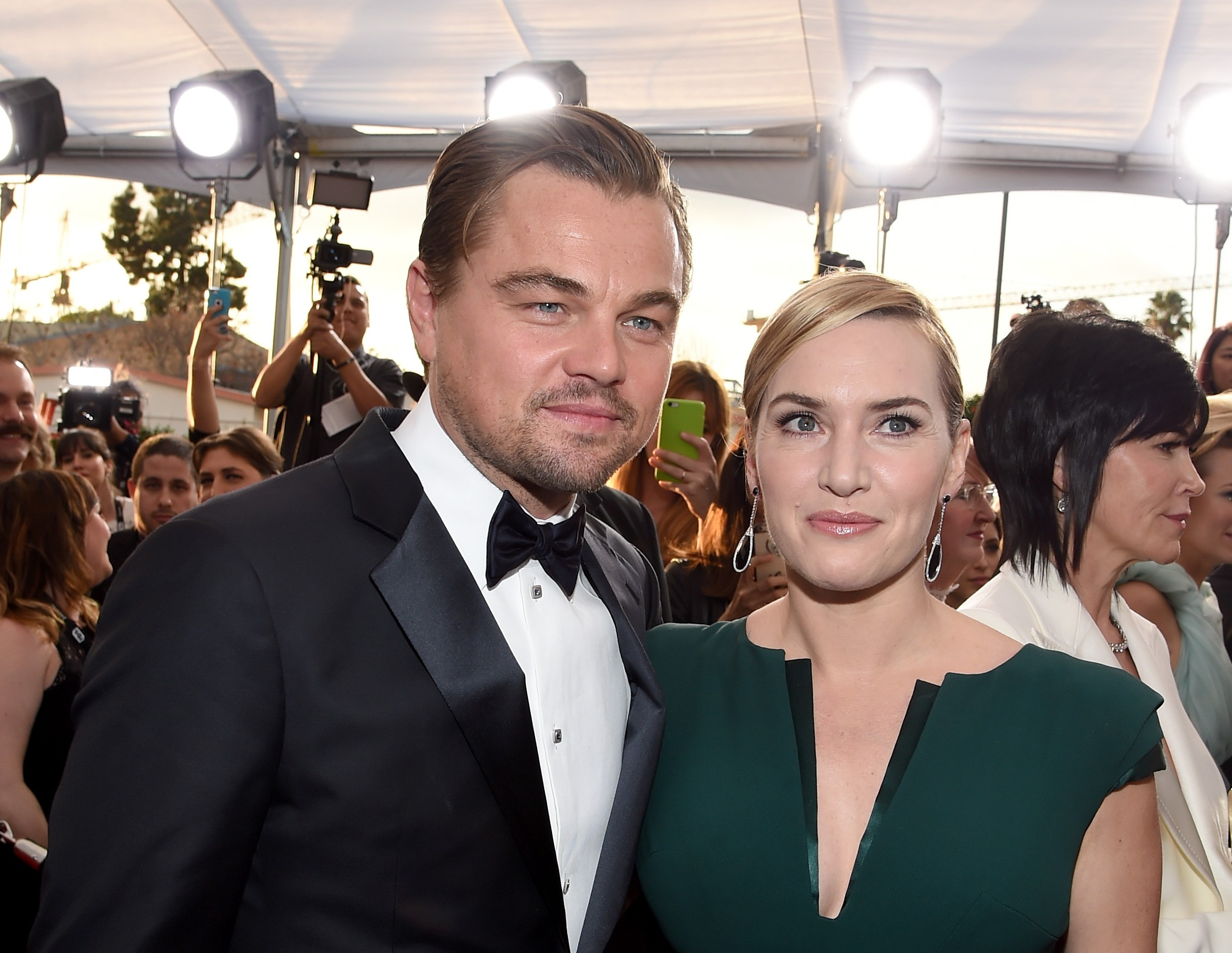 Kate Winslet and Leonardo DiCaprio save dying mother's life as they raise money for cancer treatment