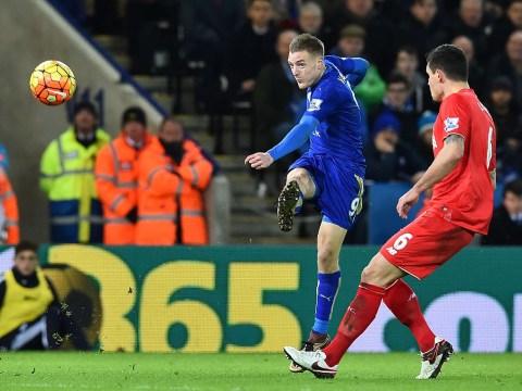 Jamie Vardy reveals he was aiming to lob Simon Mignolet before wondergoal v Liverpool