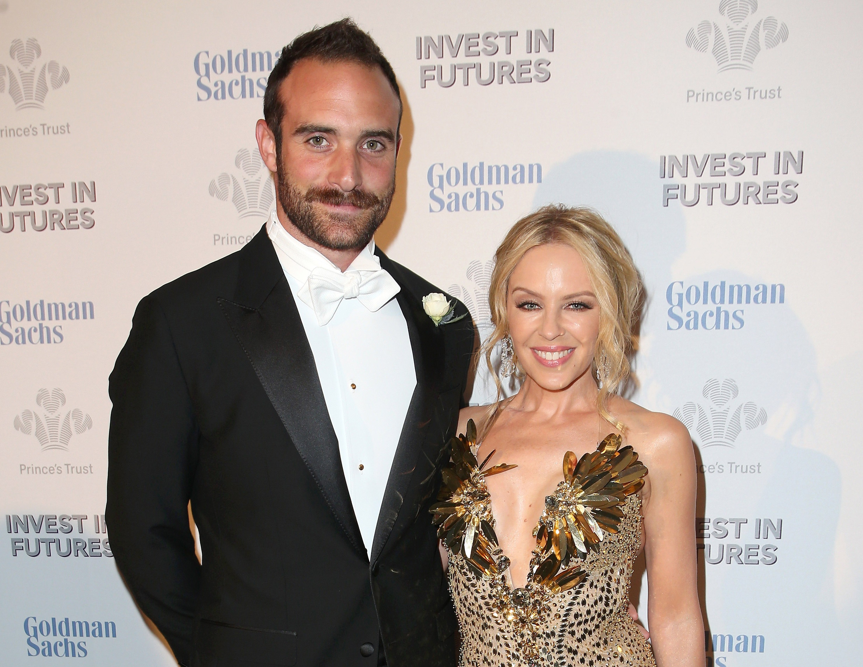 Kylie Minogue's British toyboy 'confirms the happy couple are engaged'
