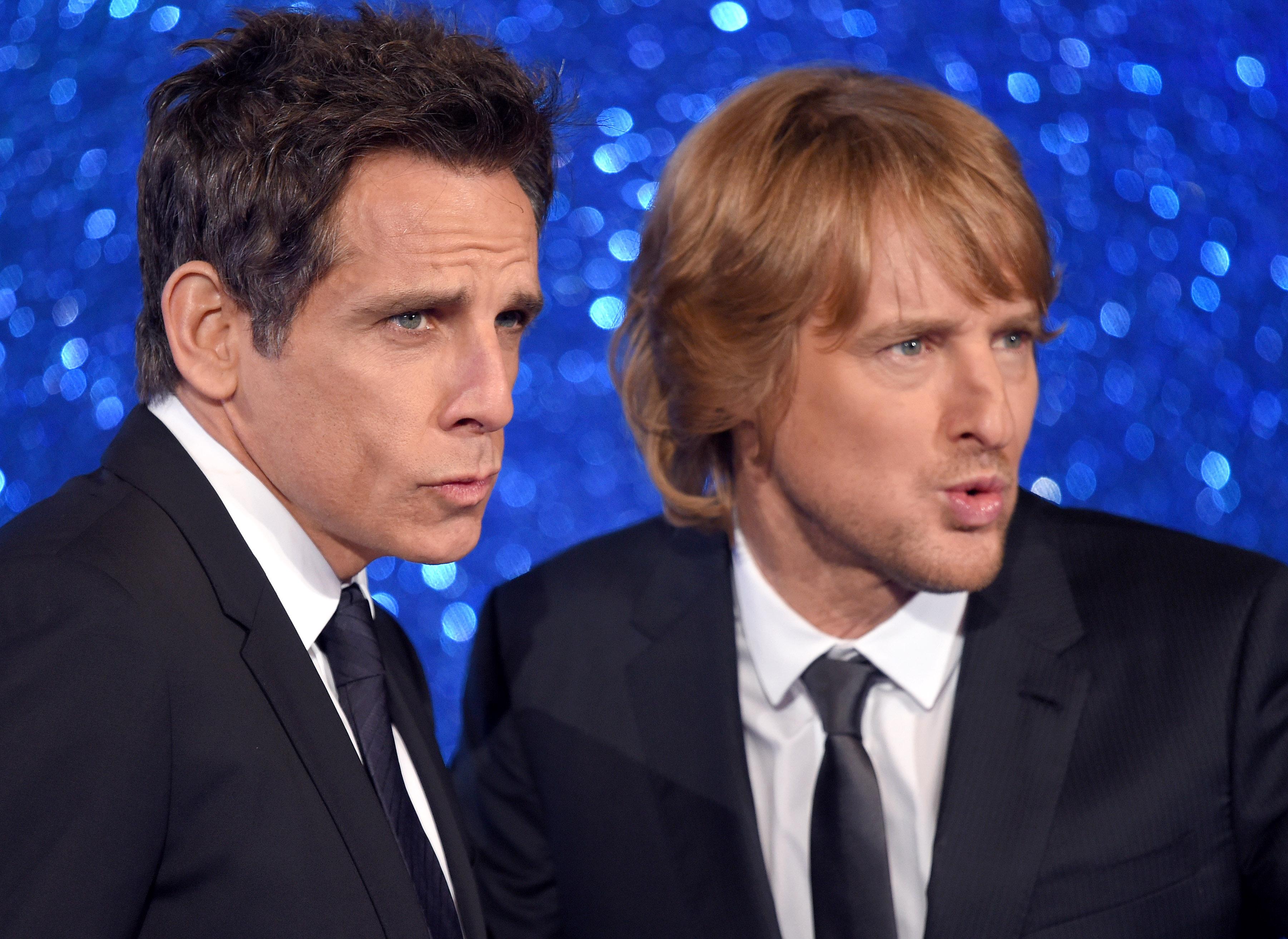 Ben Stiller wants to see Derek Zoolander and Hansel in the Ab Fab movie