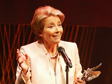 Emma Thompson dedicates her Evening Standard Film Award to 'dearest Alan Rickman'