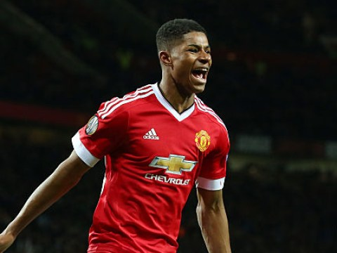 Stat suggests Manchester United forward Marcus Rashford is destined for stardom