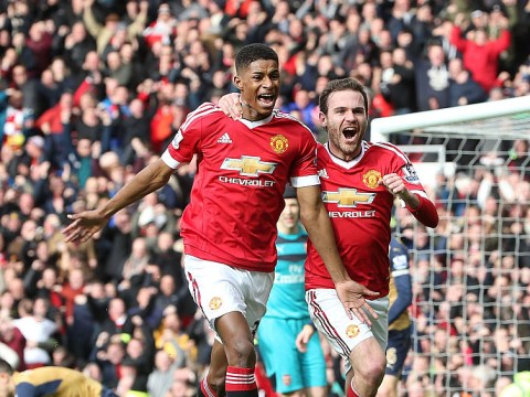 Stat: Marcus Rashford has scored four goals from just five shots for Manchester United
