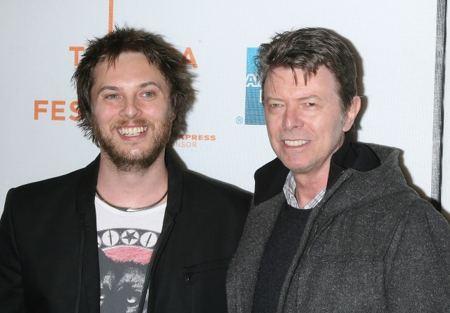 Duncan Jones with is late father David Bowie (Picture: WireImage)
