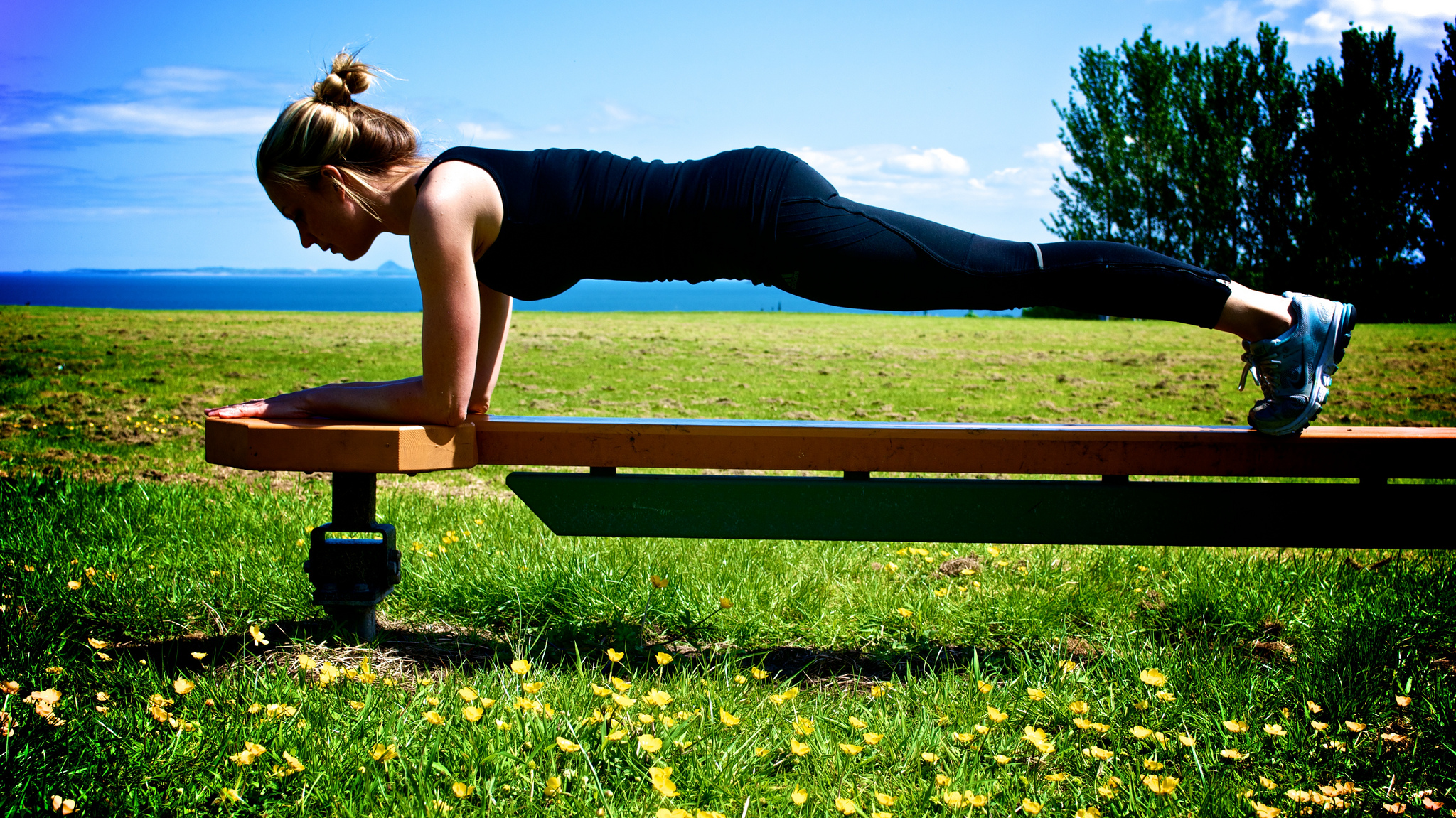 If only all planks were as idyllic as this one (flickr/livingfitnessuk)