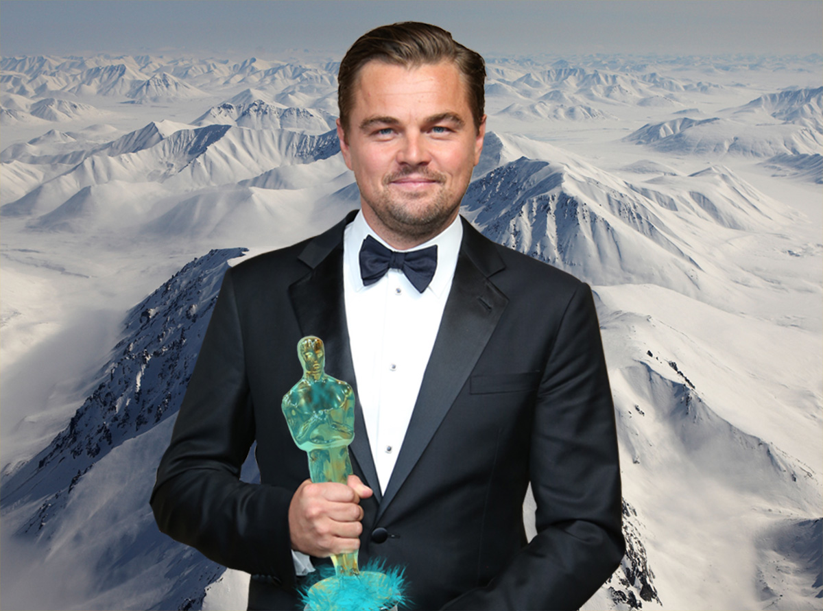 People in Siberia are making an Oscar for Leonardo DiCaprio as they feel sorry for him for not winning one Credit: Getty/Metro