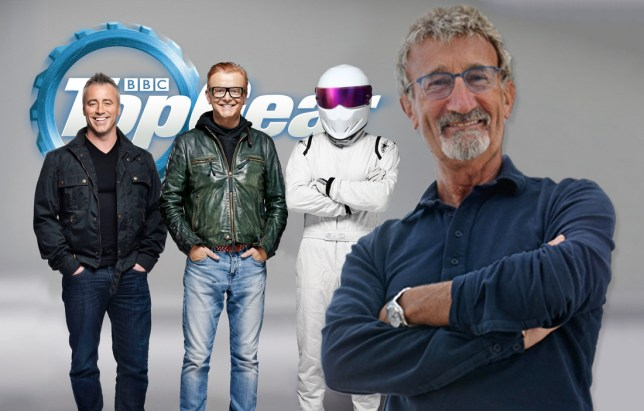 Eddie Jordan to join top gear line up Credit: BBC/PA Wire/REX