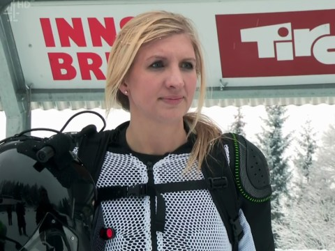 Rebecca Adlington campaigns to save The Jump despite getting injured