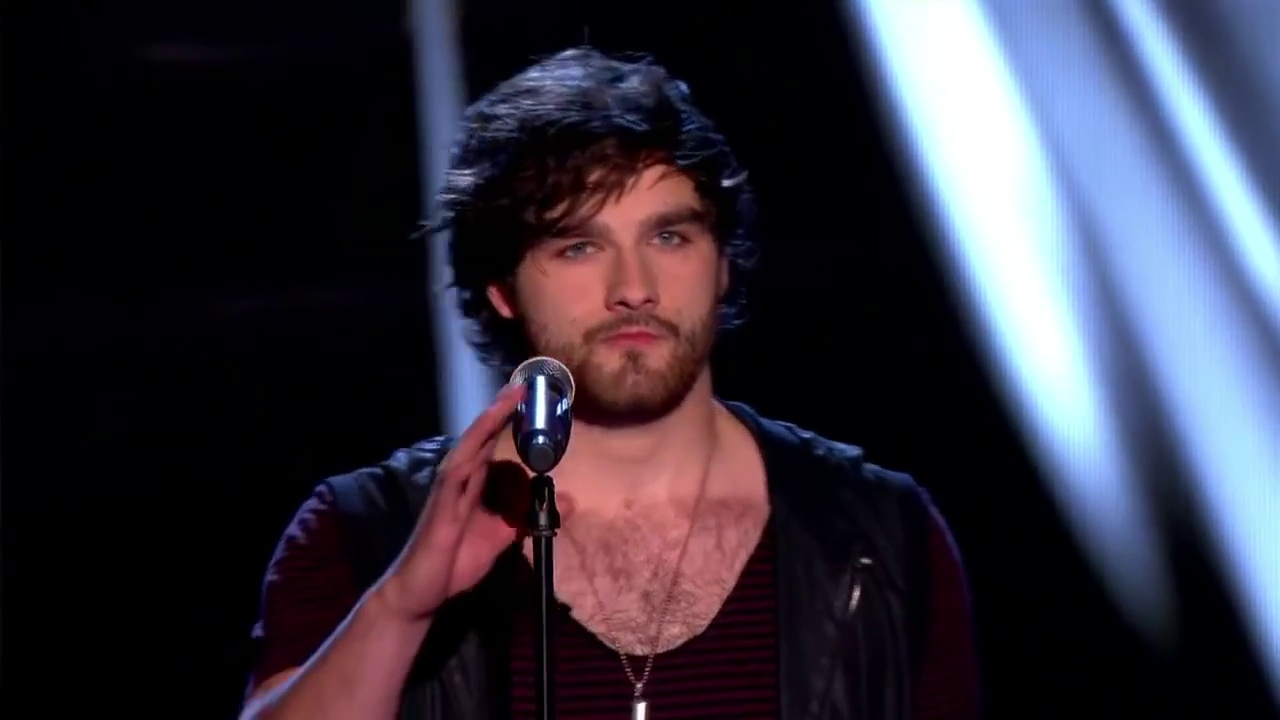 Jeff Anderson on The Voice back in 2014 (Picture: BBC)
