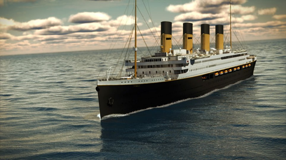 Titanic II comparison - Bluestarline.com.au