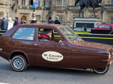 James May 'steals' Richard Hammond's car, breaks it