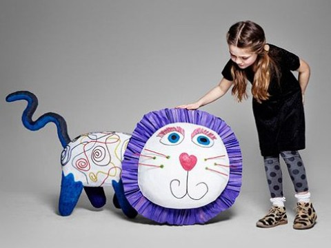 Animators and artists bring children's imaginary friends to life