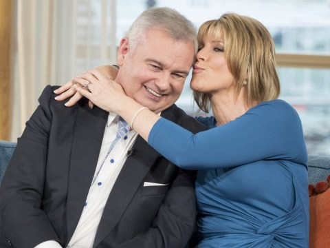 Eamonn Holmes' double hip operation went well although he woke up 'away with the fairies'