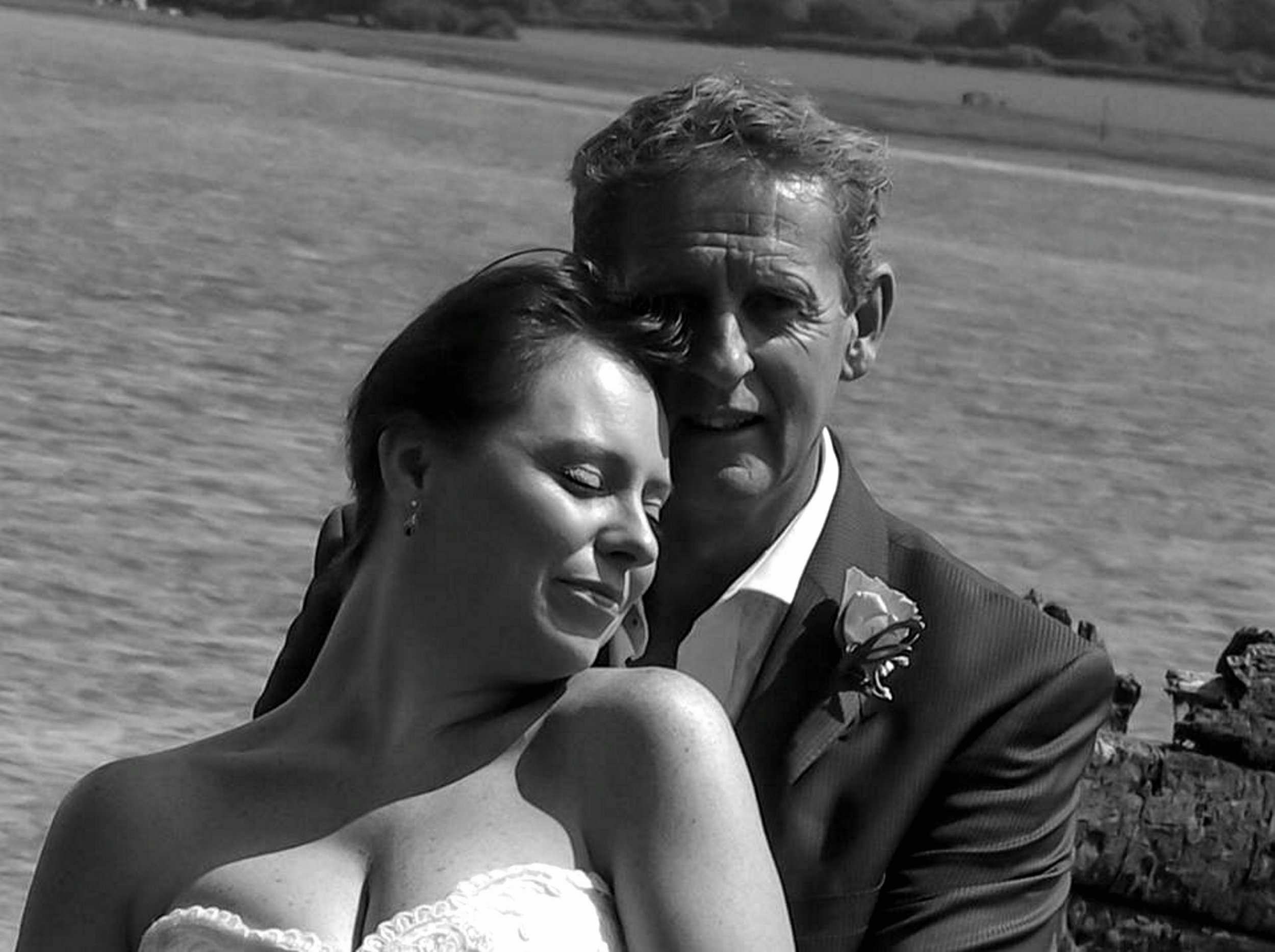"""Pictured: Andrew David McLeod-Baikie (R) with his second wife Helen (L) at their wedding, image found on open facbook page. Re: A man from Pembrokeshire, west Wales has been fined for bigamy after his estranged wife saw pictures of him marrying another woman on social media. Andrew David McLeod-Baikie, from Cresselly, pleaded guilty at Haverfordwest Magistrates' Court. He claimed he had gone through online divorce proceedings, but it emerged that it was never finalised. He was ordered by Magistrates to pay £400 in fines and a further £400 in costs. Prosecutor Sian Vaughan told the court that the defendant separated from his first wife in 2010, and the pair had four children together. However, the divorce proceedings that started in 2011, were never finalised. Ms Vaughan said: """"The first wife was informed by a friend that she had seen pictures of the wedding of the defendant and another female. """"He informed her he had divorced her online two years previously."""" Mark Layton, defending, said his client had paid £600 to deal with his divorce online, had received paperwork and understood he was divorced. Mr Layton added: """"He presented the paperwork to the vicar who married them. It was quite a large function, and he was not secretive about it. """"He should have paid more attention to the paperwork, because clearly the decree absolute had not been granted."""""""