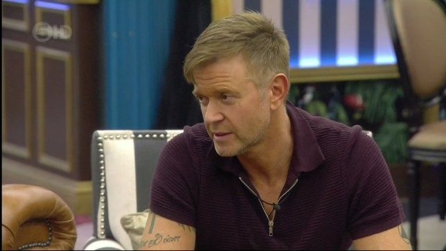 Darren Day recalls the moment his affair with Suzanne Shaw was exposed during a conversation with Stephanie Davis on 'Celebrity Big Brother Live Eviction'. Broadcast on Channel 5 HD Featuring: Darren Day When: 02 Feb 2016 Credit: Supplied by WENN **WENN does not claim any ownership including but not limited to Copyright, License in attached material. Fees charged by WENN are for WENN's services only, do not, nor are they intended to, convey to the user any ownership of Copyright, License in material. By publishing this material you expressly agree to indemnify, to hold WENN, its directors, shareholders, employees harmless from any loss, claims, damages, demands, expenses (including legal fees), any causes of action, allegation against WENN arising out of, connected in any way with publication of the material.**
