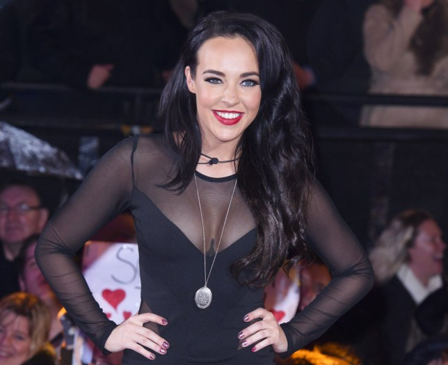Mandatory Credit: Photo by Jonathan Hordle/REX/Shutterstock (5582961aa) Stephanie Davis 'Celebrity Big Brother' TV show final, Elstree Studios, Hertfordshire, Britain - 05 Feb 2016