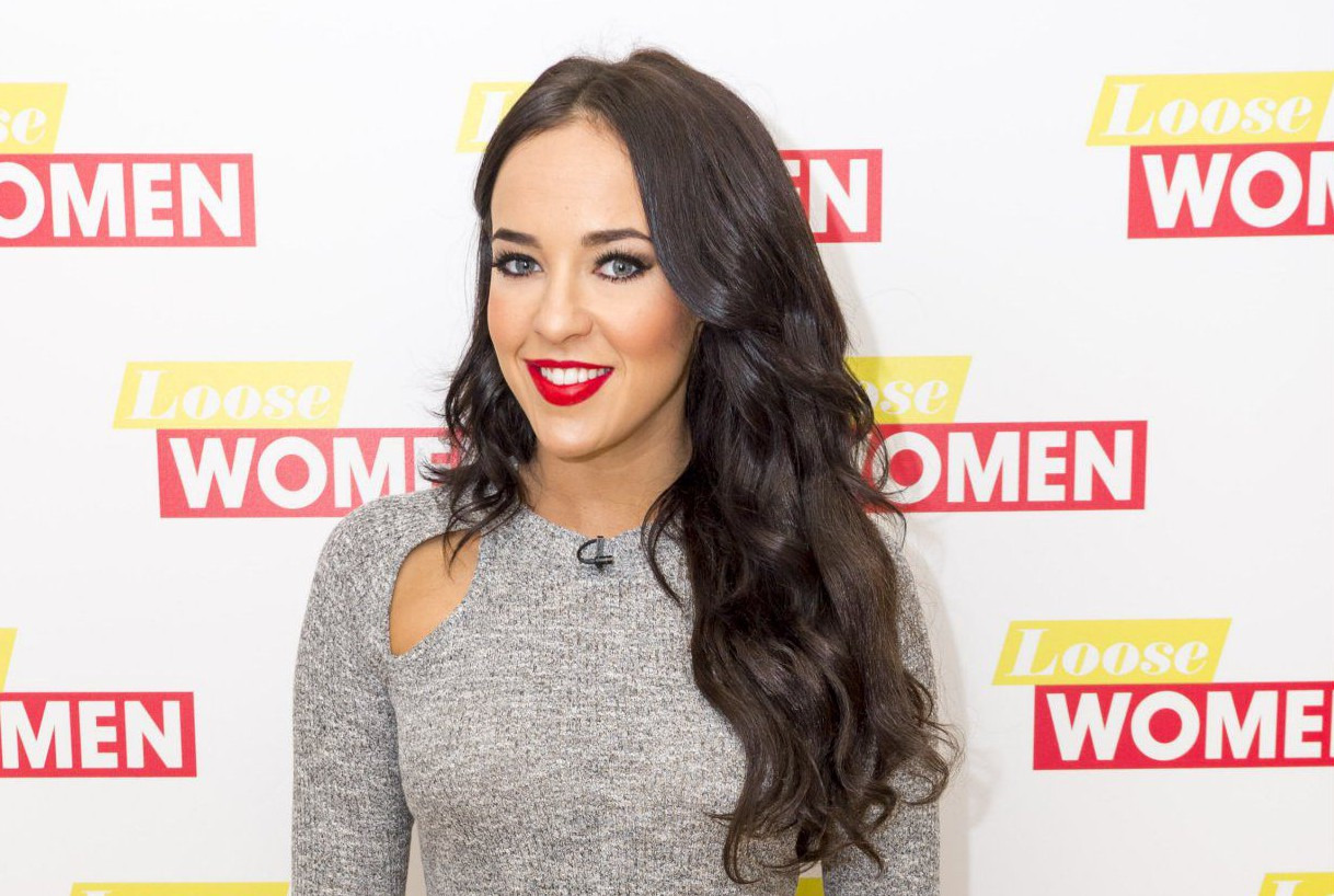 EDITORIAL USE ONLY. NO MERCHANDISING Mandatory Credit: Photo by Ken McKay/ITV/REX/Shutterstock (5585139c) Stephanie Davis 'Loose Women' TV show, London, Britain - 09 Feb 2016