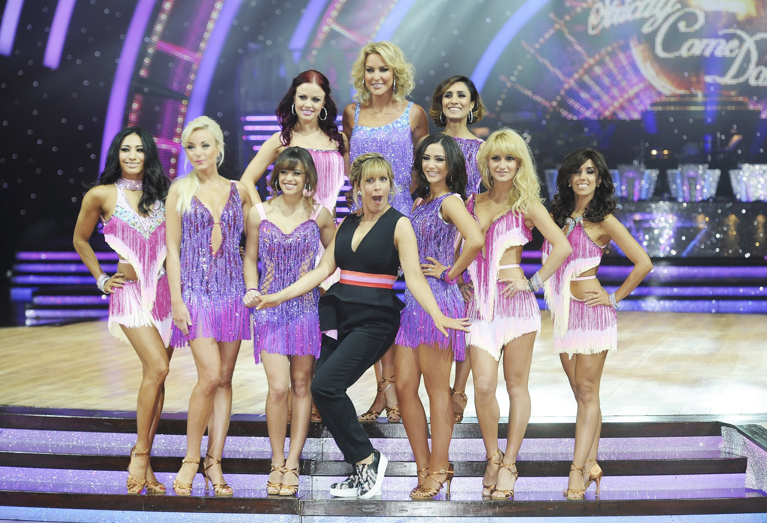 xx things that happen in Strictly Come Dancing Live that don't happen in the TV show Credit: Getty Images