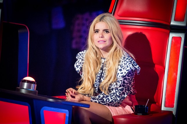 WARNING: Embargoed for publication until 00:00:01 on 09/02/2016 - Programme Name: The Voice - TX: 13/02/2016 - Episode: 6 (No. 6) - Picture Shows: THE VOICE - EPISODE 6 (WEEK 7) Paloma Faith - (C) WALL TO WALL - Photographer: Guy Levy