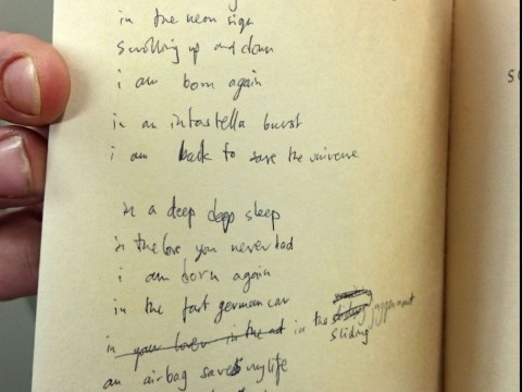 Were Radiohead inspired by William Blake? This book found in a charity shop suggests so