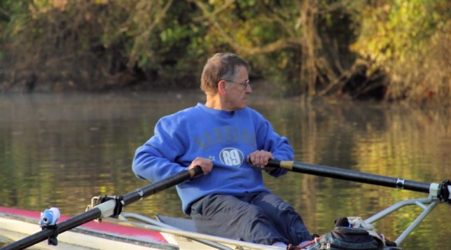 Gabe Horchler has been rowing to Washington DC for over 14 years