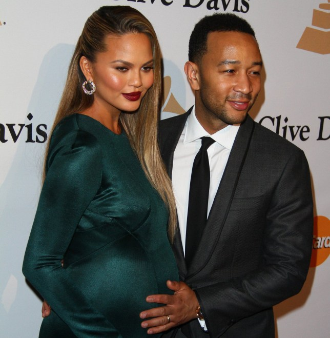 2016 Pre-GRAMMY Gala And Salute to Industry Icons Honoring Irving Azoff Featuring: Chrissy Teigen, John Legend Where: Beverly Hills, California, United States When: 15 Feb 2016 Credit: FayesVision/WENN.com