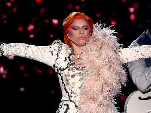 The Grammys: Lady Gaga's David Bowie tribute featured robots and holograms