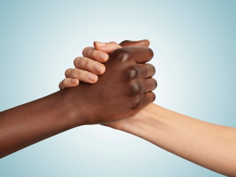 That 'I'm not racist, I have black friends' thing might actually work