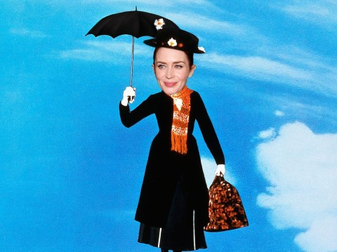 Emily Blunt 'now in serious talks to star as Mary Poppins' in Disney's reboot of classic film