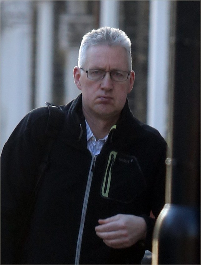 ALLROUNDER 20/02/16. PICS TAKEN 16/02/16.nFirst pics of Lembit Opik seen out in public since his jaw operation to fix his wonky face. The op looks to have been a great success as Opik strolled near his South London home.nNoble Draper Pictures.n**BYLINE: NOBLE/DRAPER**