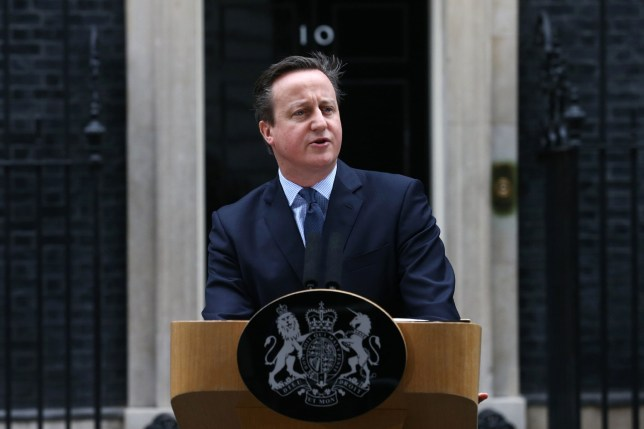 """British Prime Minister David Cameron makes a statement to the media outside 10 Downing Street in London on February 20 , 2016 regarding EU negotiations and to announce the date of the in-out referendum after chairing a meeting of the cabinet. Prime Minister David Cameron takes a deal giving Britain """"special status"""" in the EU back to London on February 20 hoping it will be enough to keep his country in the bloc as campaigning begins for a crucial in-out referendum. The prime minister announced that the referendum would be held on June 23. / AFP / JUSTIN TALLISJUSTIN TALLIS/AFP/Getty Images"""