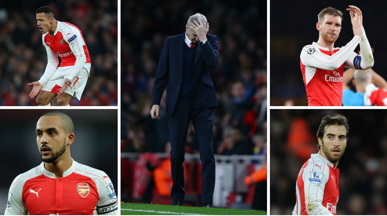 Six Arsene Wenger decisions this season that show the Arsenal manager just doesn't learn