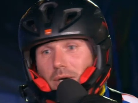 The Jump 2016: Ben Cohen swears live on air half an hour before the watershed