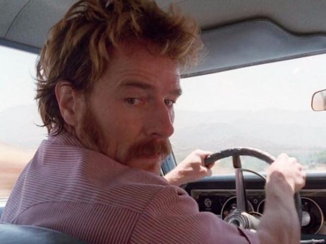 Patrick Crump and Walter White were both moustache fans