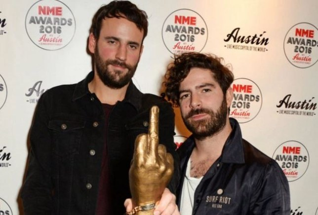 7df476294a65e NME Awards 2016  Foals and Wolf Alice emerge triumphant