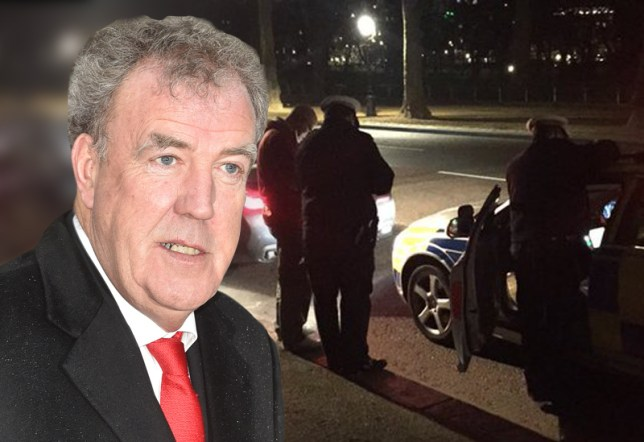 Whit Matt and Chris celebrated.... Jeremy Clarkson was pulled over by the police Rex / Jeremy Clarkson